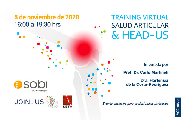Training virtual Salud Articular & HEAD-US